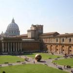 Il Giardino della Pigna, nei Musei Vaticani