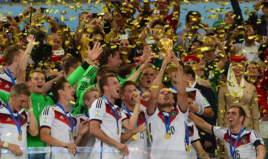 La Germania campione del mondo a Brasile 2014 (foto di Marcello Casal Jr/Agência Brasil via Flickr)