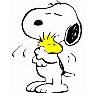 Snoopy, cane dei fumetti e dei cartoni animati