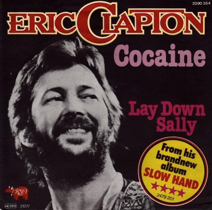 Il singolo di Eric Clapton contenente Cocaine e Lay Down Sally