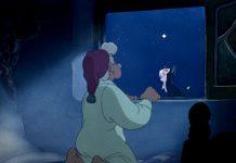 Geppetto nel Pinocchio della Disney, quasi a sognare le poesie sulle stelle