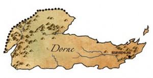 Dorne, il regno più meridionale del Continente Occidentale