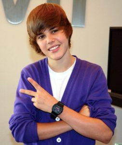 Justin Bieber nei suoi anni giovanili, perfetto esempio di cosa si intenda in Veneto per bocia (foto di Kevin Aranibar via Flickr)