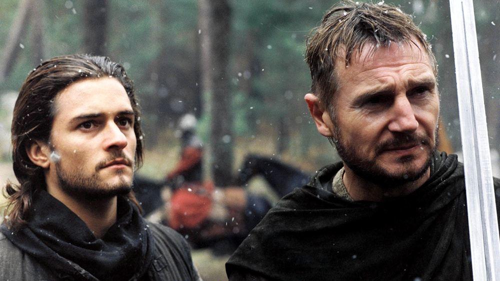 Liam Neeson e Orlando Bloom in Le crociate, uno dei più bei film ambientati nel Medioevo