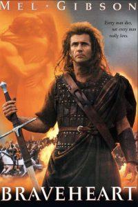 Braveheart, con Mel Gibson