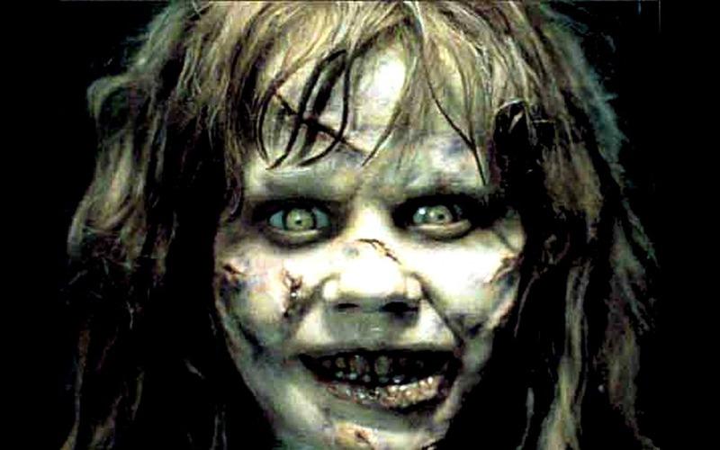 Linda Blair ne L'esorcista, uno dei film più paurosi e spaventosi del mondo