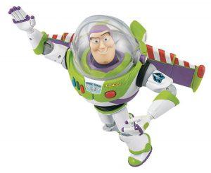 Buzz Lightyear, protagonista della saga di Toy Story