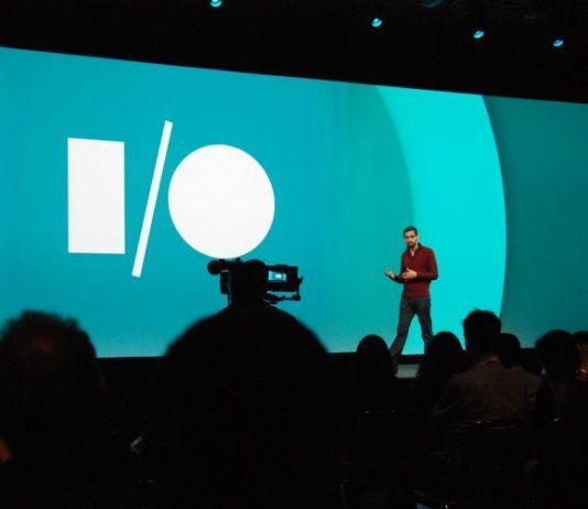 Sundar Pichai al Google I/O del 2014 (foto di Maurizio Pesce via Flickr)
