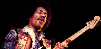 Jimi Hendrix in concerto