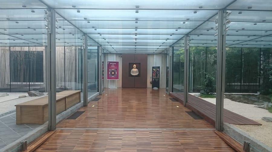 L'ingresso del Museo d'Arte Orientale di Torino (foto di Riccardo Tasso via Wikimedia Commons)