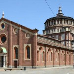 La tribuna di Santa Maria delle Grazie fu una delle prime importanti opere di Bramante