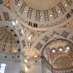L'interno di Santa Maria delle Grazie a Milano