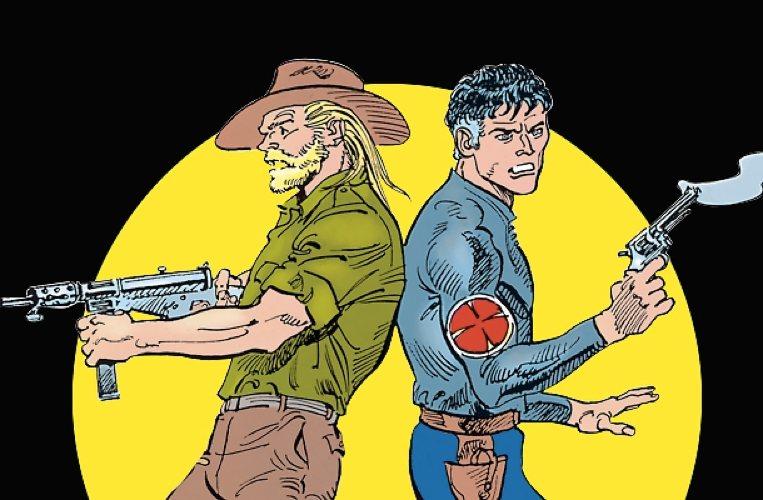 Mister No assieme ad Esse-Esse, uno dei personaggi fondamentali della serie
