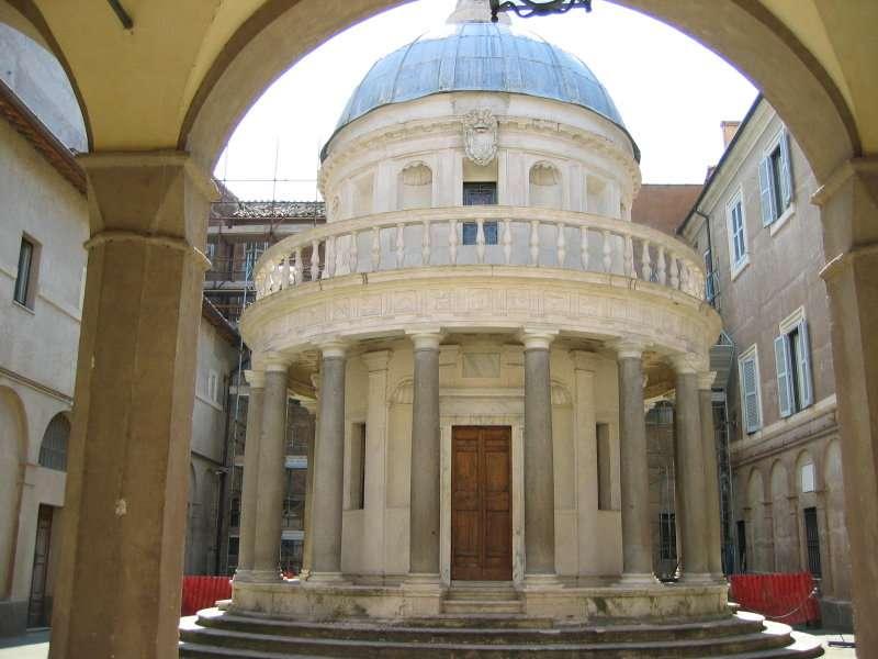 Il Tempietto di San Pietro in Montorio a Roma