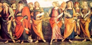 I profeti secondo il Perugino