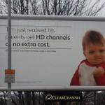 Il Success Kid usato nella pubblicità