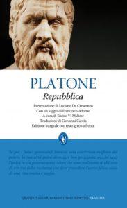 La copertina della Repubblica di Platone