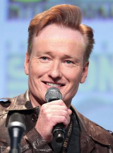 Conan O'Brien (foto di Gage Skidmore via Wikimedia Commons)