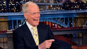 David Letterman quando conduceva il suo talk show sulla CBS