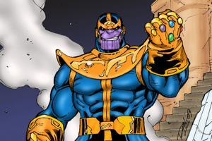 Thanos, uno dei cattivi dell'universo Marvel che è andato più vicino a distruggere il cosmo
