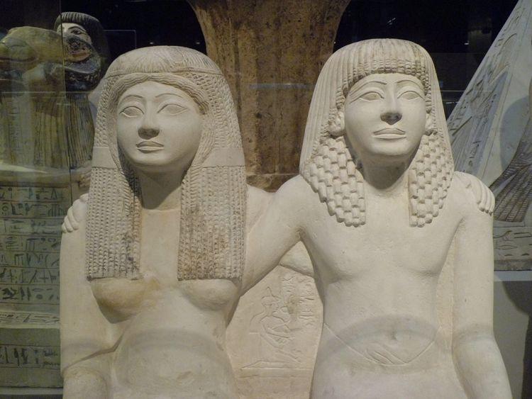 I suggestivi interni del Museo Egizio, uno dei luoghi luoghi da visitare a Torino