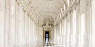 Gli interni della Reggia di Venaria Reale nei dintorni di Torino