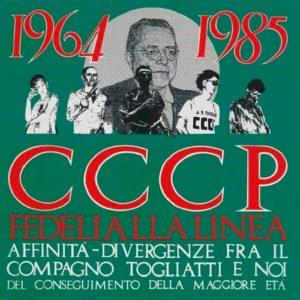 La copertina di 1964-1985 Affinità-divergenze fra il compagno Togliatti e noi del conseguimento della maggiore età dei CCCP