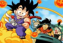 Alcuni dei principali personaggi di Dragon Ball, uno degli anime più famosi di sempre