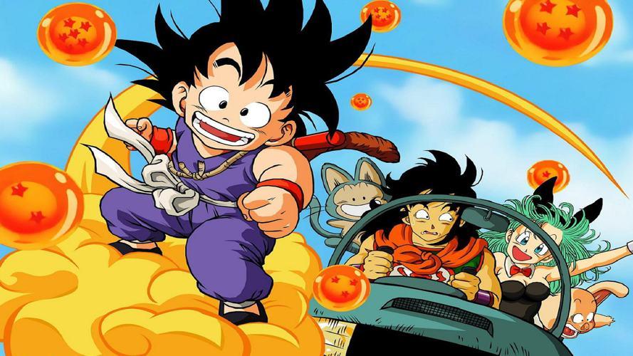 La prima serie di Dragon Ball, uno dei cartoni animati anni '90 più amati e popolari