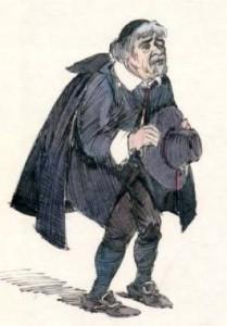 Don Abbondio, forse il più memorabile dei personaggi de I promessi sposi
