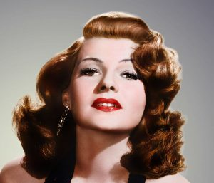 La conturbante Rita Hayworth