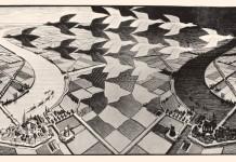 Uno dei più celebri disegni di M.C. Escher, che ci introduce ai paradossi