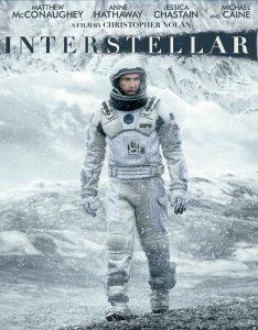 Matthew McConaughey sulla locandina di Interstellar, uno dei film più attesi del 2014