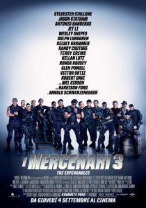 La locandina de I mercenari 3