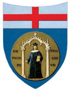 Il simbolo dell'Università di Genova