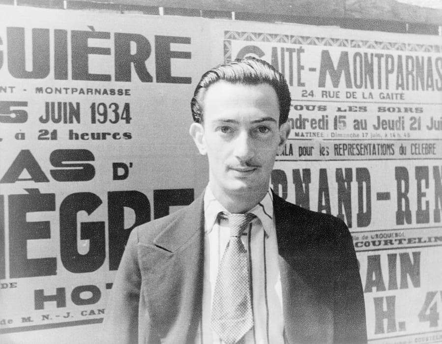 Salvador Dalí ritratto da Carl Van Vechten nel 1934