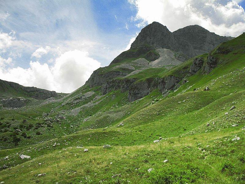 Un paesaggio nel Parco Nazionale d'Abruzzo (foto di Desmatron via Flickr)