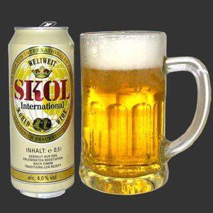La Skol, la birra più venduta in Brasile