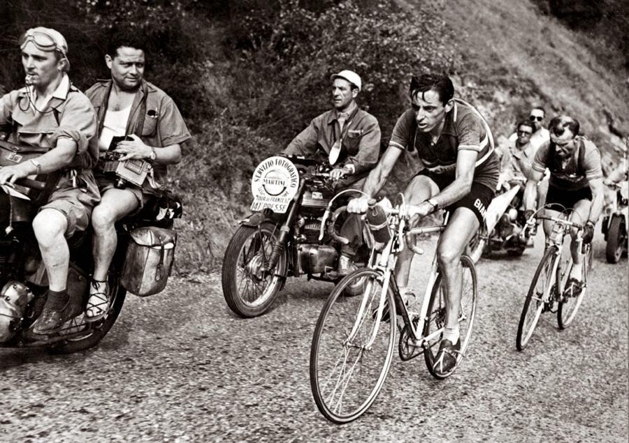 Fausto Coppi in salita