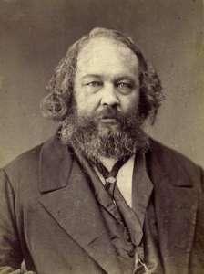 Michail Bakunin, uno dei più celebri padri dell'anarchismo