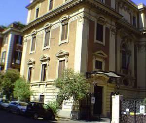 La sede dell'Accademia Nazionale d'Arte Drammatica Silvio D'Amico