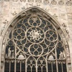 Un rosone del Duomo