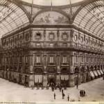 Foto d'epoca dell'interno della Galleria