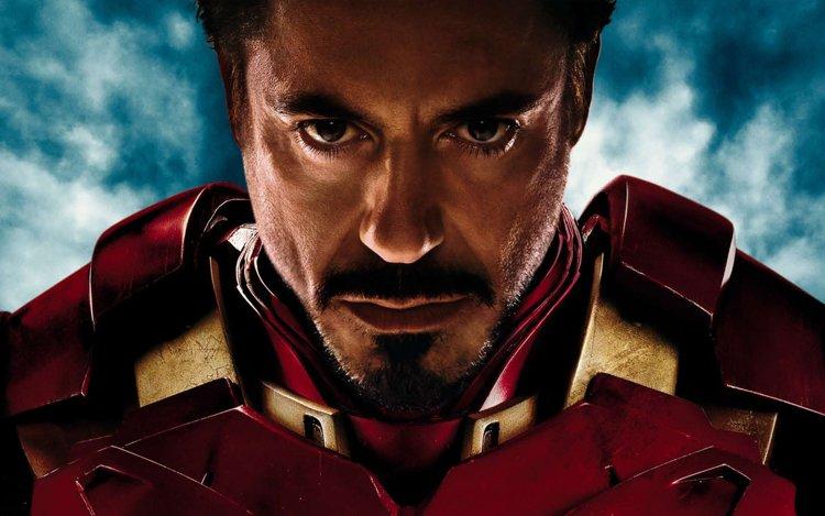 Iron Man col volto di Robert Downey jr.