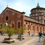 Santa Maria delle Grazie a Milano (foto di Latinboy via Wikimedia Commons)