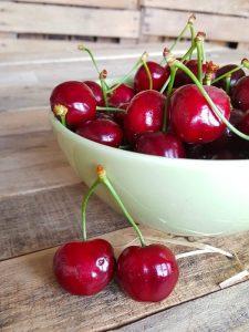 Un bel cestino di ciliegie