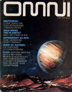 La prestigiosa rivista Omni nel 1979