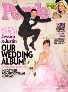 Justin Timberlake e Jessica Biel sulla copertina di People