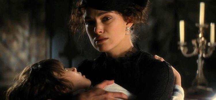 Anna Karenina con suo figlio