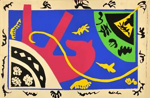 Le cheval, l'écuyère et le clown da Jazz, di Henri Matisse